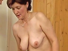 Horny Housewife Going Crazy Sucking Part1